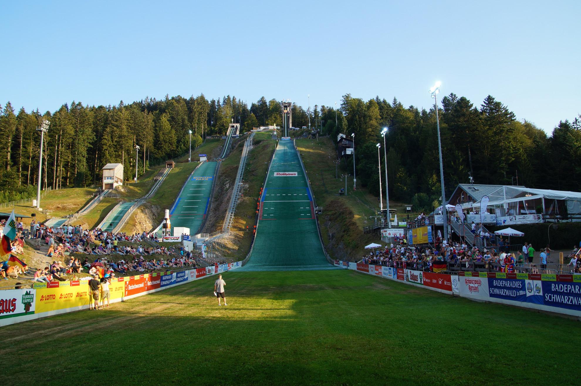 Adler-Skistadion Sommer Grand Prix Abend