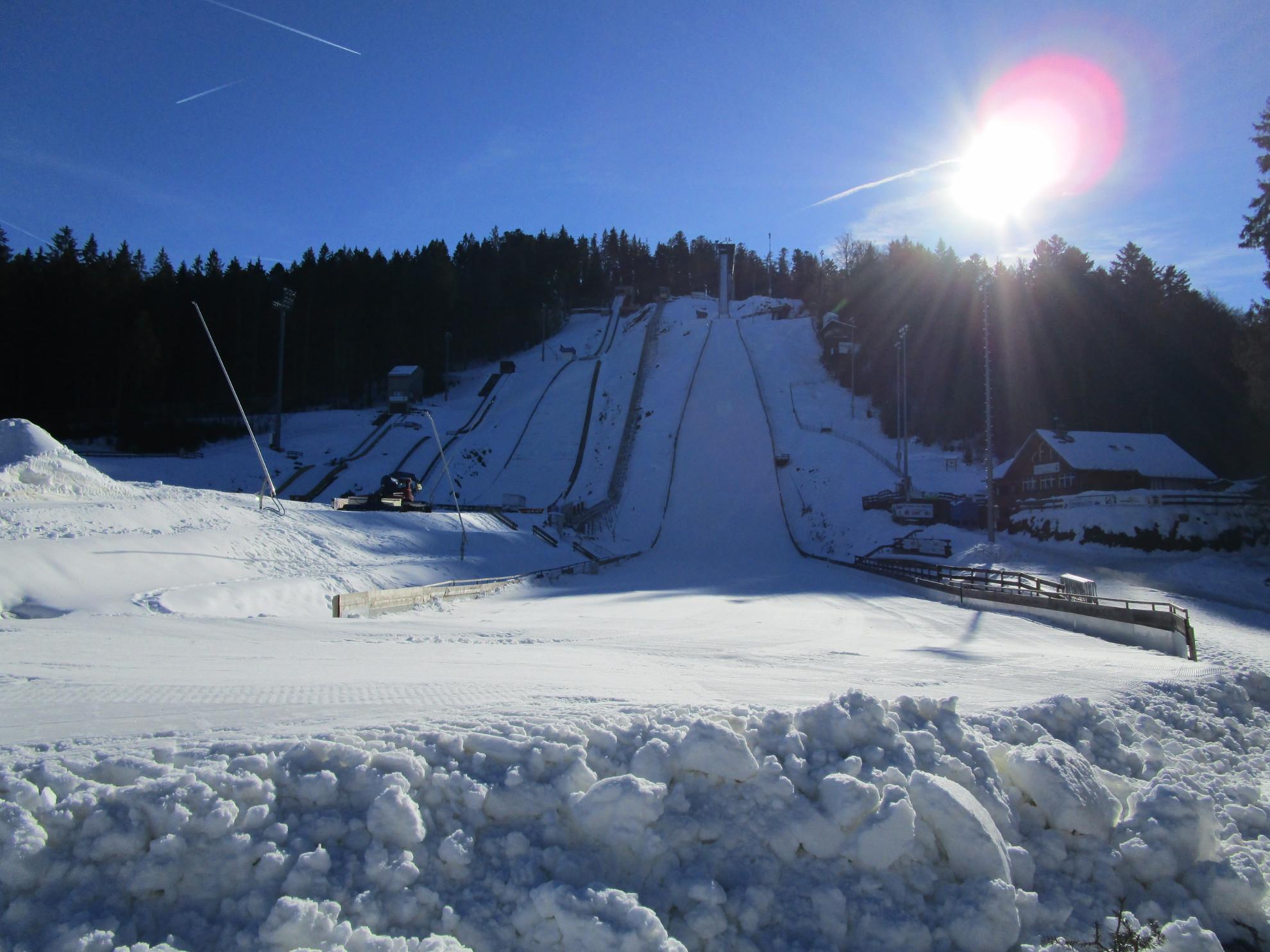 Adler-Skistadion Winter